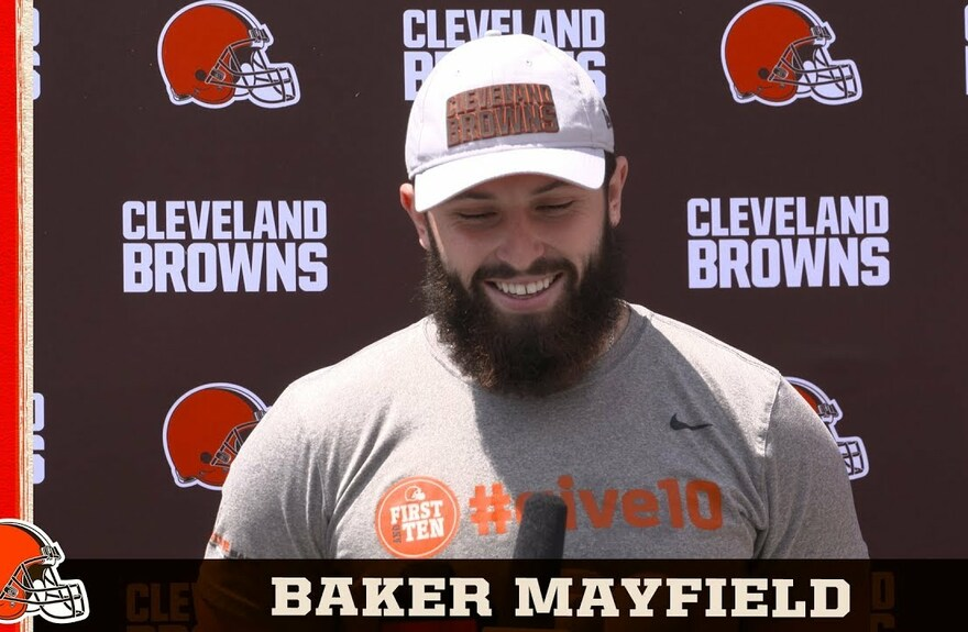 Baker Mayfield: I'm just trying to take the next step forward | Cleveland Browns